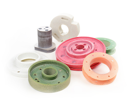 Rotary electroinsulating and mechanical parts